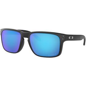 Oakley Holbrook Unisex Matte Black/Prizm Sapphire Polarized
